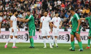 کارشناسیداوری نیمه اول بازی ایران - عراق
