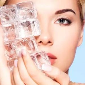 جوانسازی و مراقبت از پوست با یخ!
