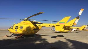 اختصاص یک فروند بالگرد اورژانس به استان قزوین