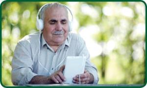 کاهش افسردگی سالمندان با موسیقی درمانی