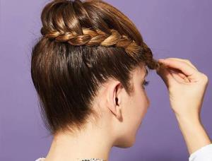 آموزش شنیون مو سریع با بافت برای دورهمی ها