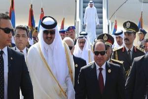 محتوای نامه السیسی به امیر قطر اعلام شد