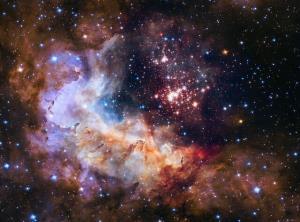 عکس روز ناسا؛ شکار یک خوشه ستارهای توسط هابل