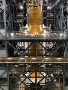 موشک ناسا از تندیس آزادی هم بلندتر است