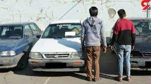 دستگیری سارقان پلاک خودرو در دیّر