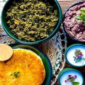 طرز تهیه «خورش سیرابیج» اصیل گیلانی به روش محلی