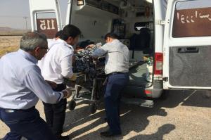 ۱۲ مجروح در حادثه رانندگی حوالی مشهد راهی بیمارستان شدند
