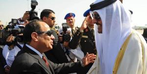 وزیر خارجه مصر پیام السیسی را به امیر قطر داد