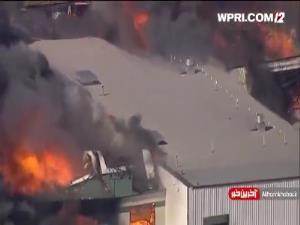 انفجار در کارخانه مواد شیمیایی در آمریکا