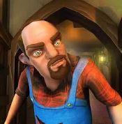 Scary Stranger 3D؛ پیرمرد همسایه را بترسانید
