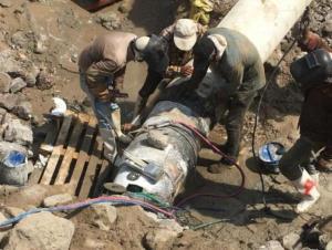 ۱۰ روز پس از شکستگی خط انتقال، آبرسانی به بندر خمیر از سر گرفته شد