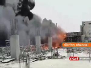 آتشسوزی مهیب در نجف اشرف