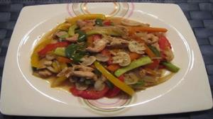دستور پخت خوراک سبزیجات به سبک چینی
