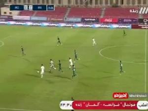 ادامه فرصتسوزی بازیکنان تیم ملی مقابل عراق