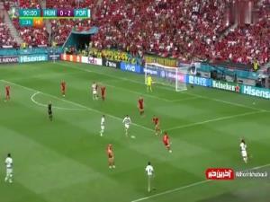 گل سوم پرتغال؛ دبل رونالدو