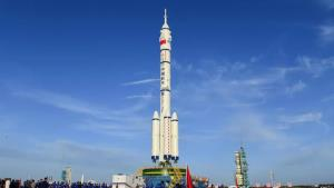 چین آماده اعزام اولین فضانوردان به ایستگاه فضایی
