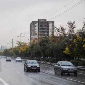بارش پراکنده باران در برخی مناطق کشور