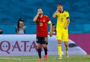یورو ۲۰۲۰/ تساوی ناامیدکننده اسپانیا برابر سوئد