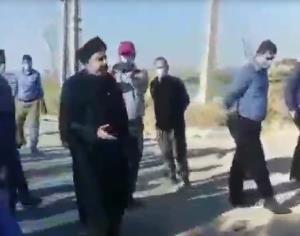ماجرای فیلم درگیری یک روحانی و مأموران در روستای ابوالفضل(ع) اهواز