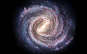 ماده تاریک چرخش نوار کهکشانی راه شیری را کند کرده است