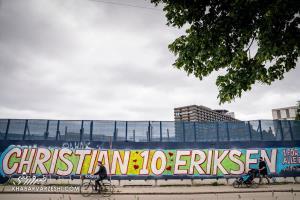 دیوارنوشتهای برای کریستین اریکسن