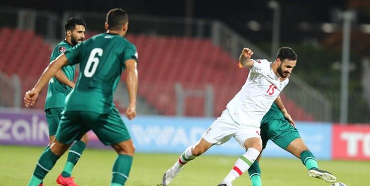 مهربانی داور ازبک با بازیکنان عراق!