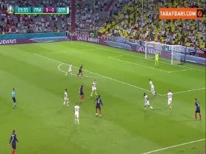 گل اول فرانسه به آلمان