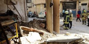 انفجار دیگ بخار اتو پرس در مشهد به ۳ منزل خسارت زد