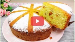 ترفند تهیه کیک ساده مغزدار