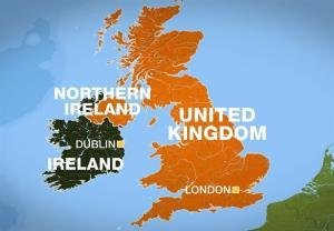 ادامه جنجال بین اتحادیه اروپا و انگلیس بر سر ایرلند شمالی
