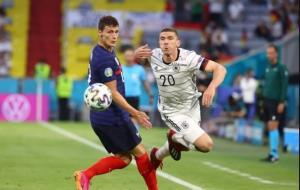 خلاصهبازی فرانسه 1 - آلمان 0