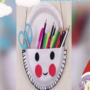 جامدادی خلاقانه؛ کاردستی کاربردی برای اتاق کودک