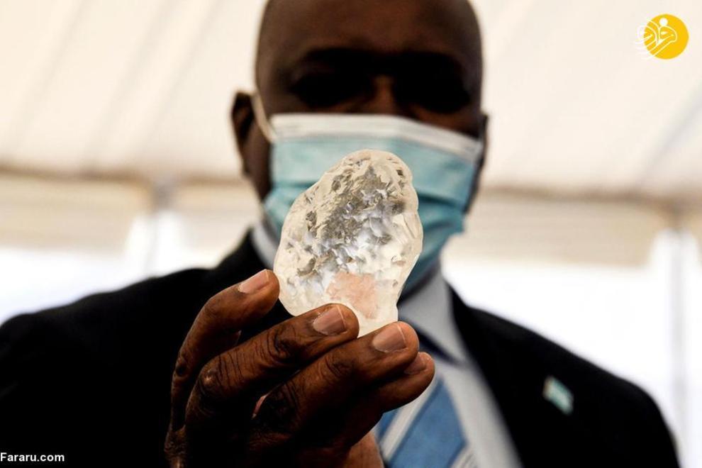 کشف سومین الماس بزرگ جهان