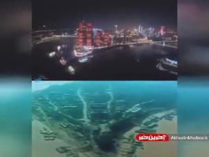 حجم عظیم پیشرفت در یکی از شهر های چین طی ۳۰ سال