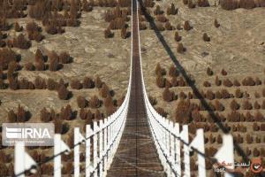 معروفترین پلهای معلق ایران با مناظر بینظیر
