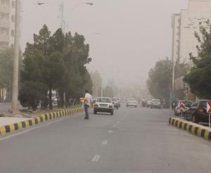 وقوع گردوغبار در ۱۰ شهرستان خوزستان
