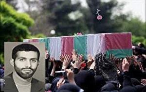 پیکر پاک شهید محمد اسحاقی در امامزاده طاهر(ع) کرج آرام گرفت