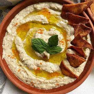 طرز تهیه «متبل» پیش غذای خوشمزه و معروف لبنانی با بادمجان