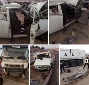 برخورد خودروها در جاده خرمآباد_پلدختر ۳ کشته و زخمی برجای گذاشت