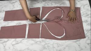 ایده ای جذاب برای استفاده مجدد از شلوار جین قدیمی