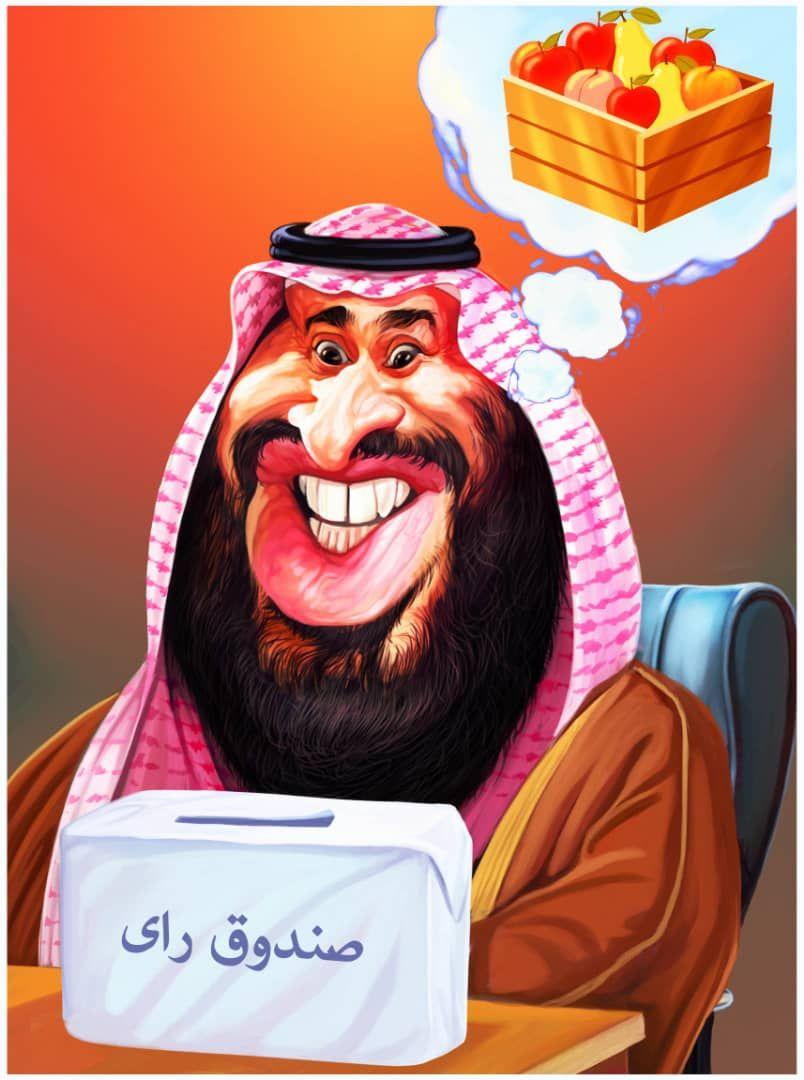 کاریکاتور/ تصور برخی کشورها از صندوق رای