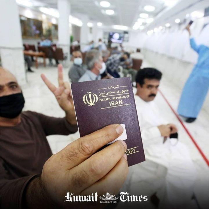 عکس/ انعکاس حضور پرشور ایرانیان مقیم کویت در روزنامه «کویت تایمز»