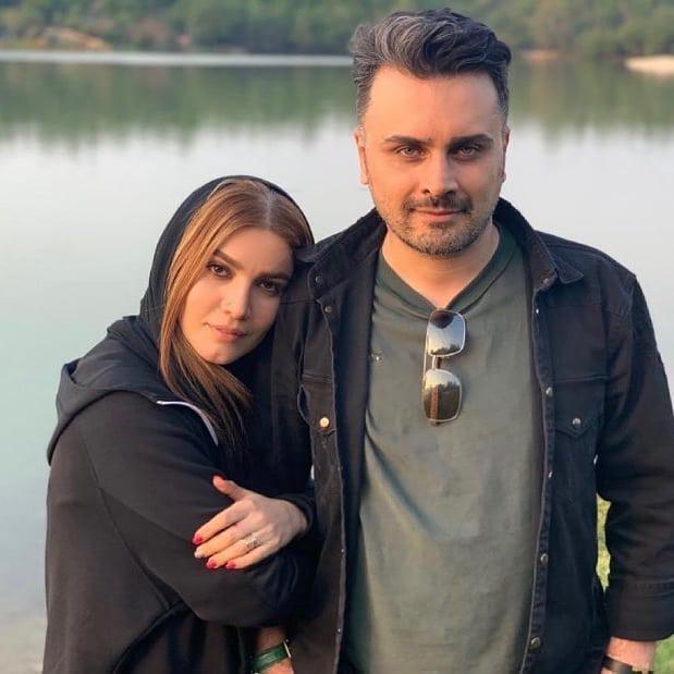 چهرهها/ عاشقانه متین ستوده در کنار همسرش علی زندی