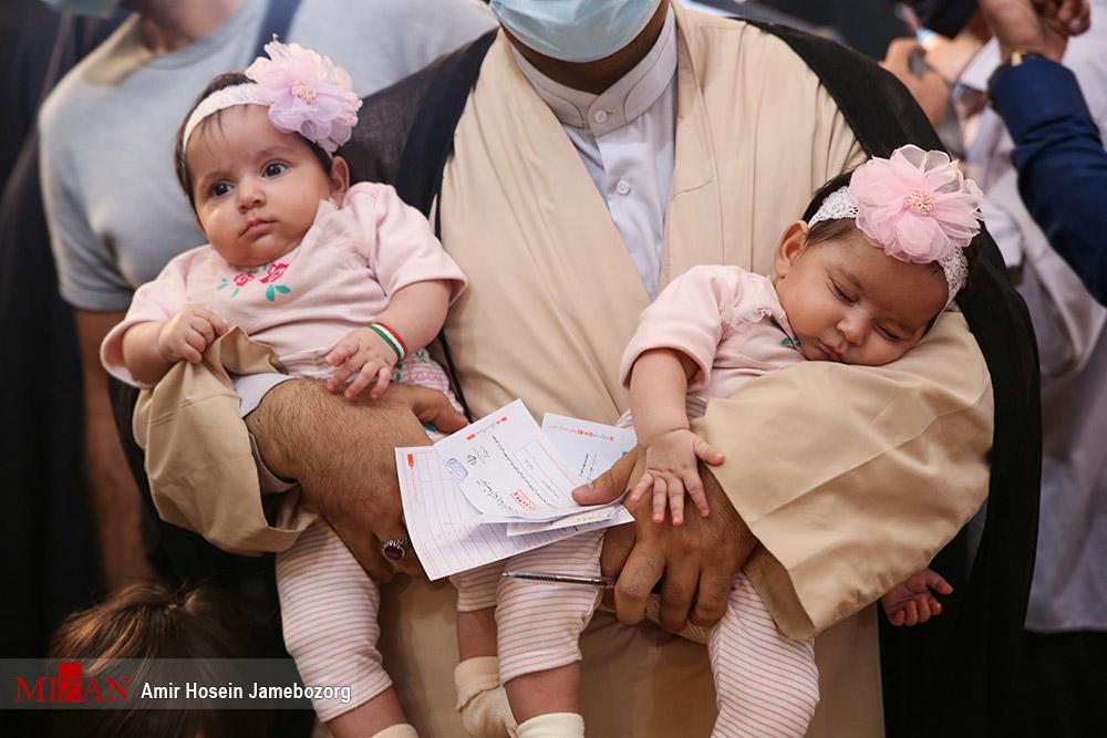 عکس/ کودکانی که پایشان به انتخابات 1400 باز شد