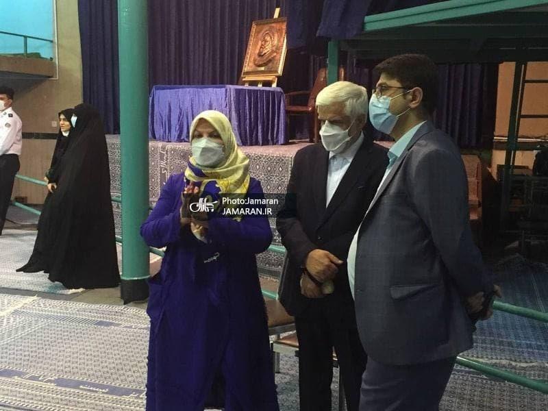عکس/ حضور چهره ها در حسینیه جماران برای شرکت در انتخابات