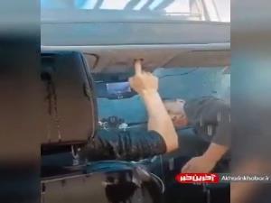 نبستن سانروف ماشین در کارواش