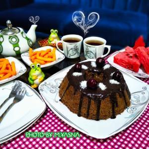از شما/کیک چای بدون فر