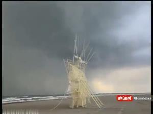 مجسمه های خارق العاده ای که با باد حرکت میکنند!