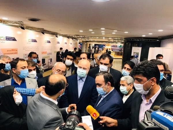 عکس/ حضور قالیباف در ستاد انتخابات کشور