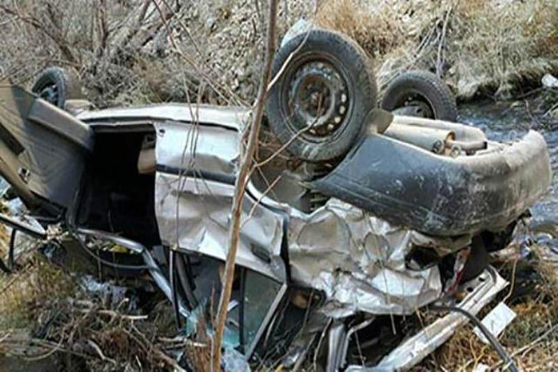 ۲ نفر براثر سانحه رانندگی در محورهای خراسان شمالی کشته شدند